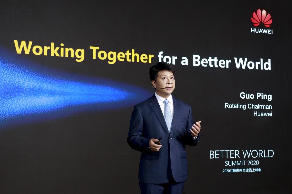 Guo Ping Huawei Better World Summit