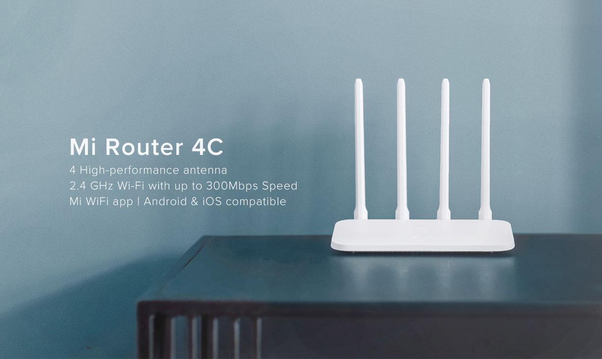 Mi router 4C Nepal