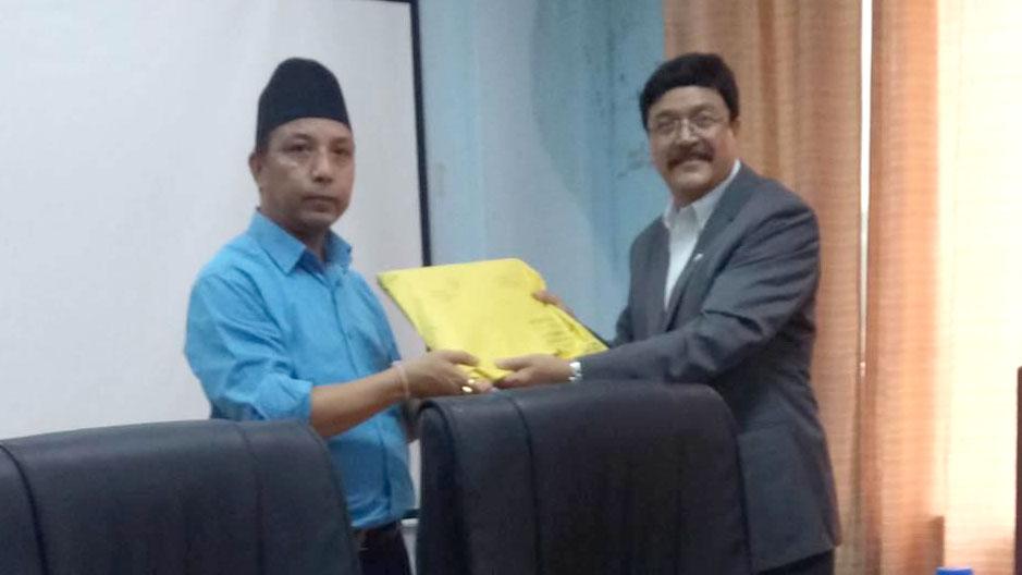 Nepal Telecom Gandaki pradesh Surendra Man Singh