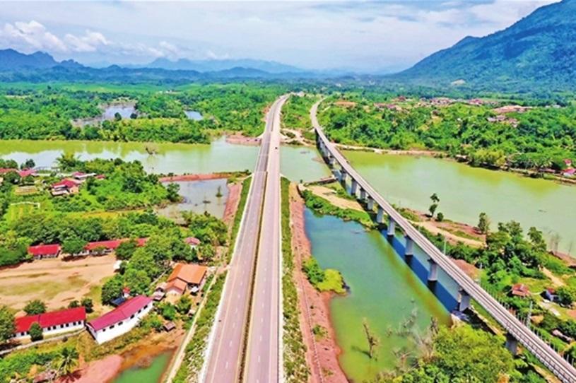 Vientiane Vangvieng Laos Smart Expressway