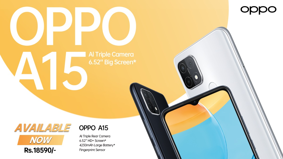 Oppo A15 Price in Nepal