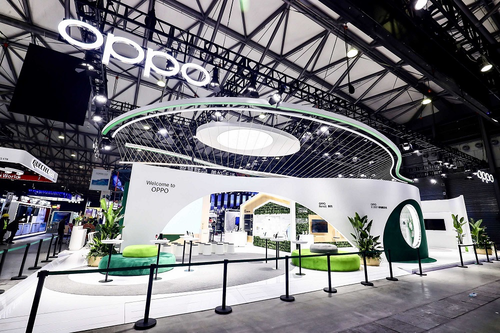 Oppo Booth MWC 2021