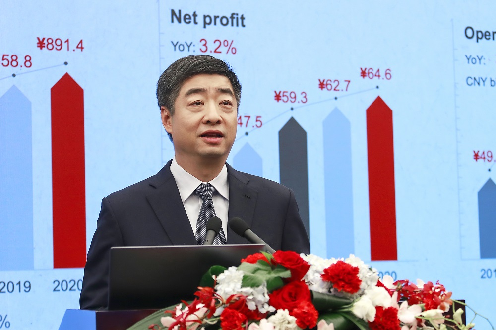 Ken Hu Huawei CEO Annual Report 2020