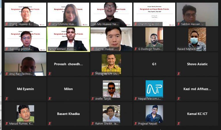 Huawei darwin hall tour for Nepal and Bangladesh 5G use cases