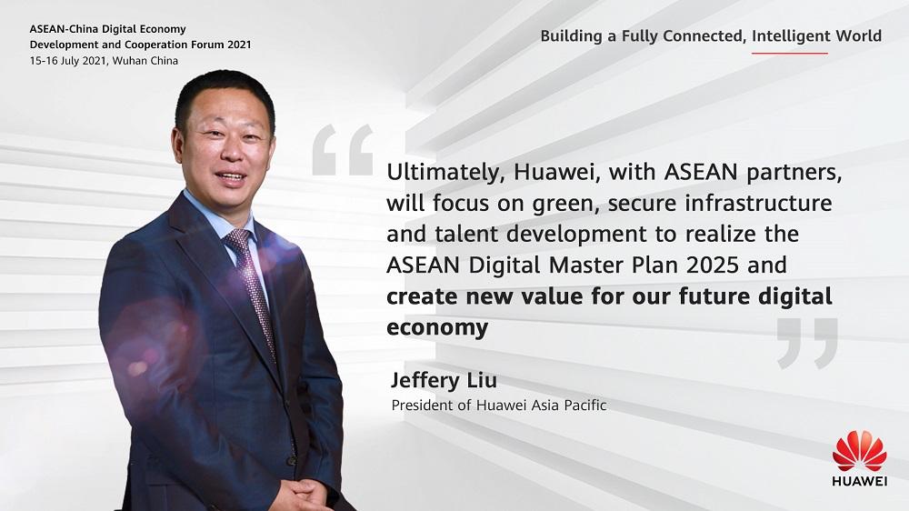 Jeffery Liu Huawei Green Power innovation