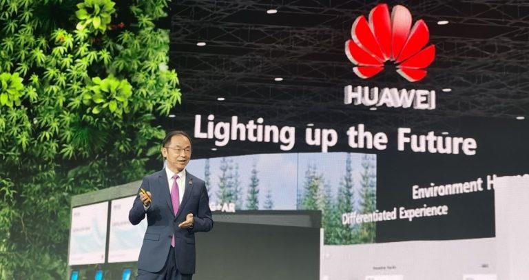 Ryang Ding Huawei MWC Barcelona