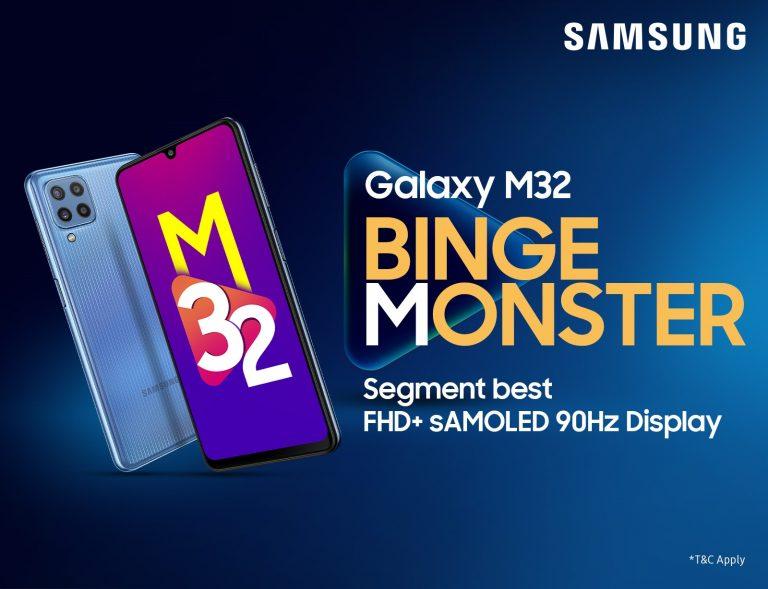 Samsung M32 Price in Nepal