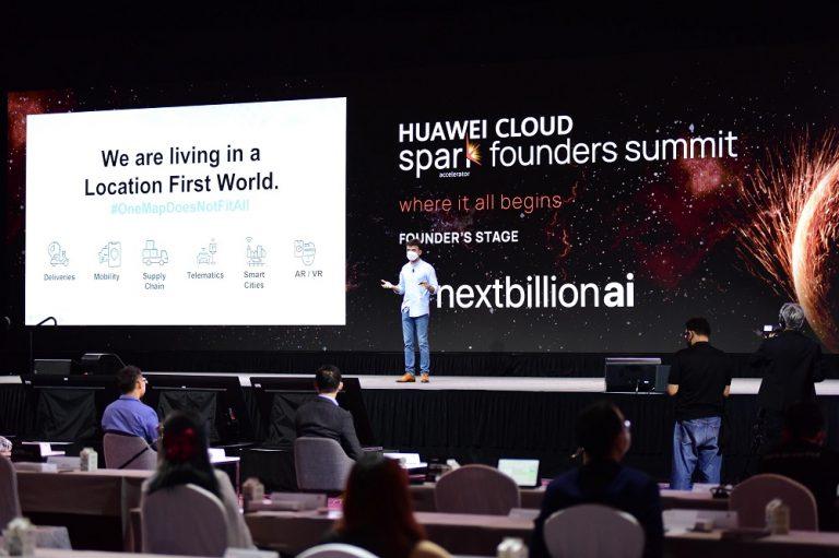 Huawei Cloud spark founders Summit