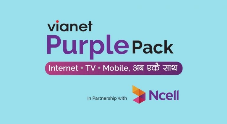 Vianet Purple Pack with Ncell